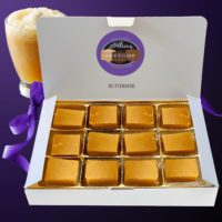 12 piece Gift Box Alice's Awesome Butterbeer Fudge