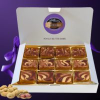 12 piece Gift Box Alice's Awesome Peanut Butter Swirl Fudge