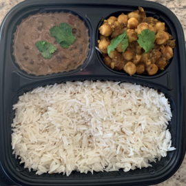 Chana Masala Meal