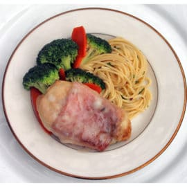 Chicken Saltimbocca Plate