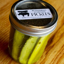 Ma Hagerman's Homemade Pickles