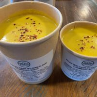 Roasted Cauliflower and Turmeric Soup
