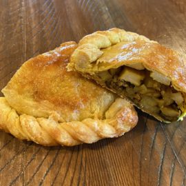 Vegetarian Pasty_Curried Aubergine