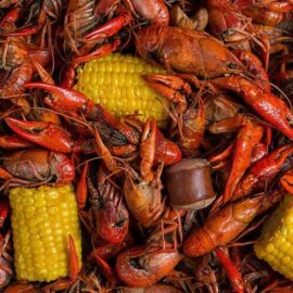 Bayou Boiled Crawfish