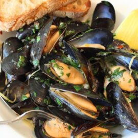 mussels wicked garlic